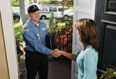 in-home estimate from Neal Harris Service Experts Heating,  Air Conditioning & Plumbing